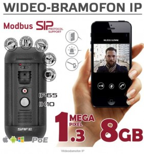 Wideodomofon IP SAFE S06MP na iOS, Android, Window